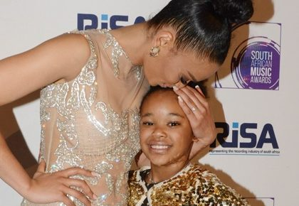 Pearl Thusi and daughter start new dance challenge