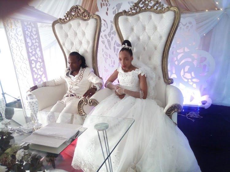 Socialite-turned pastor Bhaka Nzama marries in a strange way