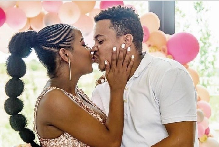 Brenden and Mpoomy Ledwaba Welcome Baby Girl