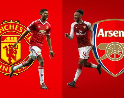 Did you know that Arsenal haven't suffered a defeat against rival Manchester United in their last three games?