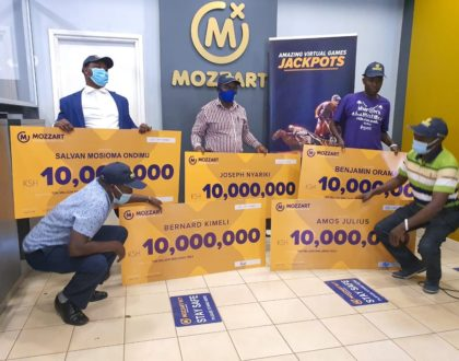 Join the MozzartBet club of multi-millionaires! Ksh 170M already paid out!