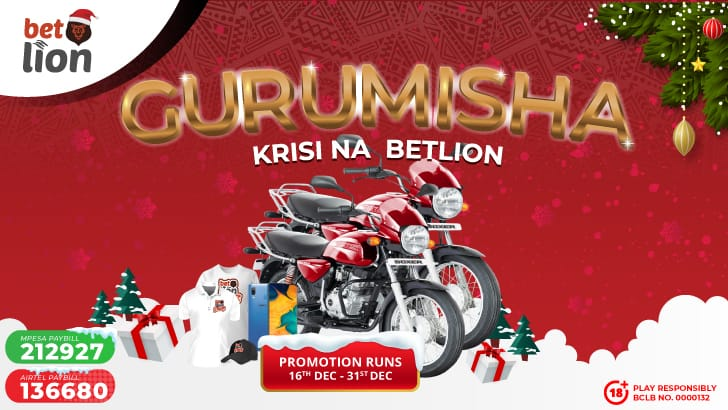 BetLion stirs the festive week with Boxer bikes and other prizes up for grabs in the Boda line Fun Christmas Bonanza!