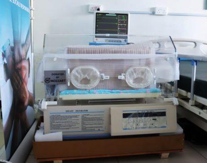 Mama Lucy Kibaki Hospital receives ICU Equipment donation from Mozzart Bet