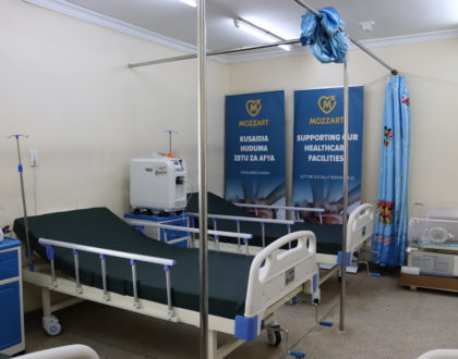 Mozzart brightens smiles at Kayole 2 Sub-County with ICU equipment as a Christmas gift