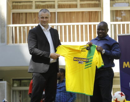Mozzartbet Kenya unveiled as new sponsors of Kakamega Homeboyz in Ksh 20 Million deal