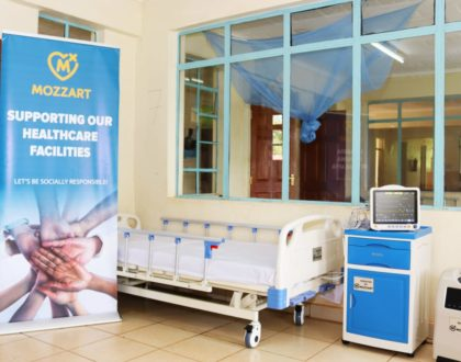 Mozzart donates ICU equipment worth Ksh 1.5m to Rachuonyo County Hospital in Homa Bay County