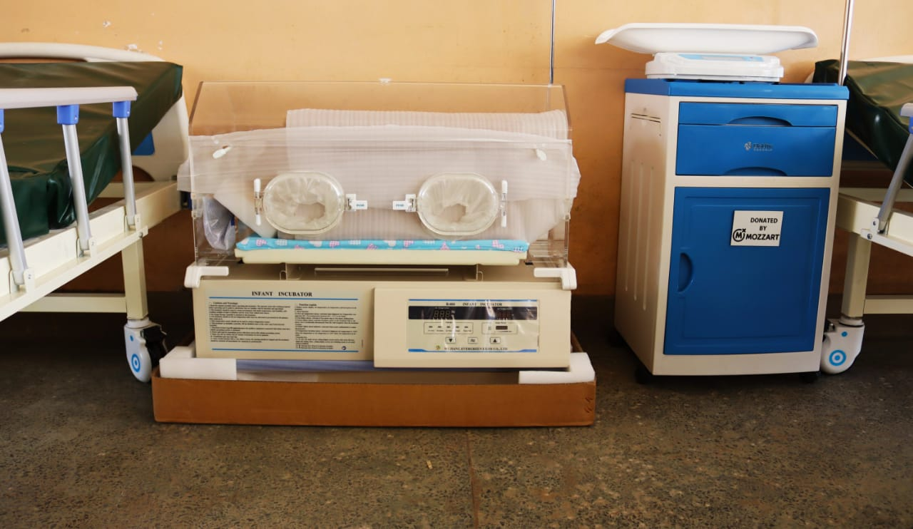 Mozzart brightens smiles for Dandora residents with Ksh 1.5m worth of ICU equipment in donations to Dandora 1 Health Center