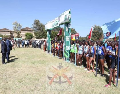 Co-op Bank sponsors the 40th edition of the KDF Annual Cross-Country Championships