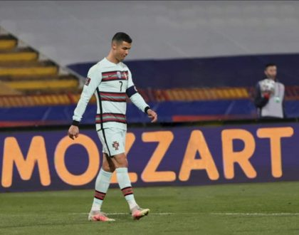 Mozzart purchases Christian Ronaldo's armband for Ksh. 9.64M at a charity auction to raise money for a boy's treatment