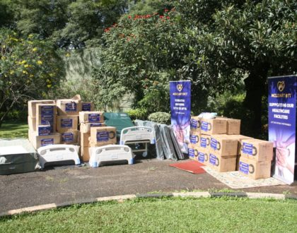 Mozzart visits Baringo County with an essential medical equipment donation worth over Ksh 2.5m