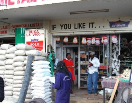 What are the online banking options available to a business owner in Kenya?