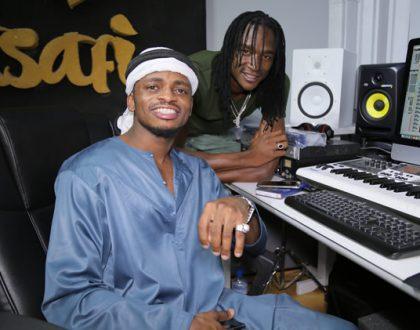 Jah Prayzah aingia studio na Harmonize baada ya kutoa collabo kali na Diamond