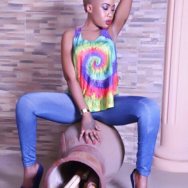 Amber Lulu awajibu wanaomsingizia kuwa anatumia 'unga