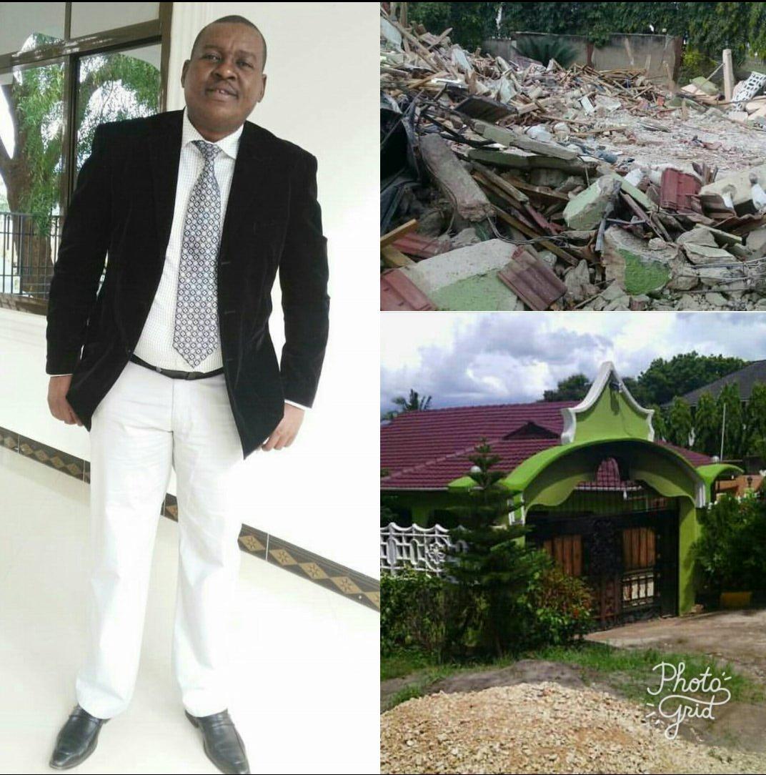 Proffesa Jay Alalamika Baada ya Jumba Lake La Mamilioni Kuvunjwa