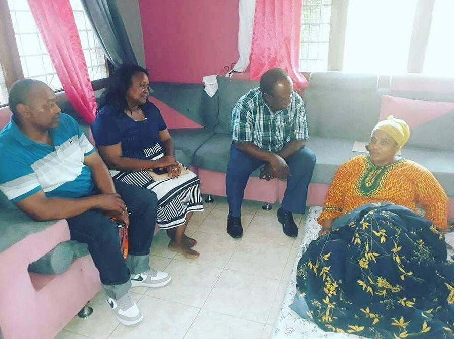 Waziri Mwakyembe Amtembelea Wastara na Kutoa Msaada wa Matibabu.