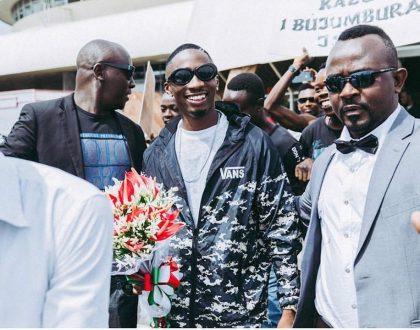 Jux Apokelewa Kama Mfalme Nchini Burundi Haijawahi Kutokea