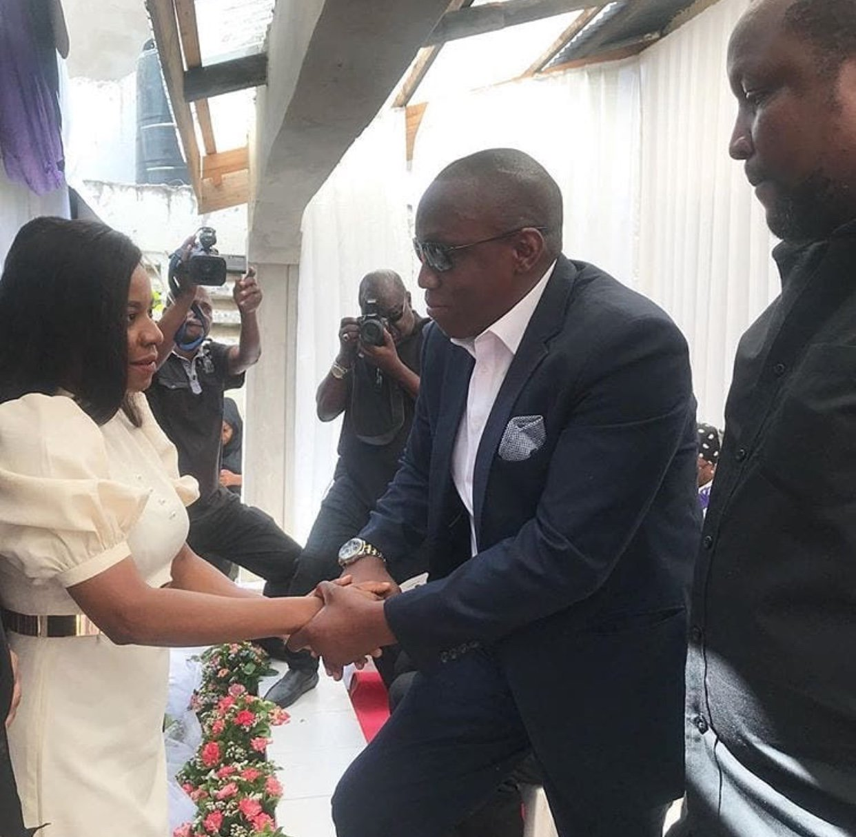 Lady Jay Dee na Gadner Uso Kwe Uso Msibani