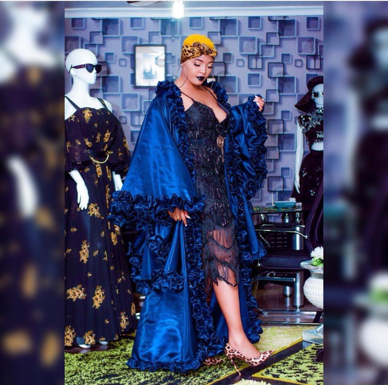 Fashion Ya Gauni Yampa Wakati Mgumu Wolper