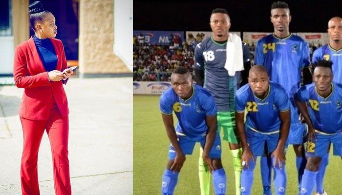 Jokate Atoa Adhabu kwa Taifa Stars Baada ya Kufungwa.