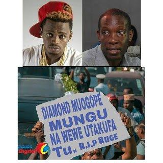 Mabango ya Wana BUKOBA kwa Diamond ni Kizungumkuti