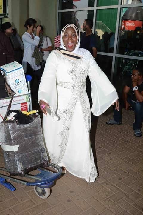 Stecia Mayanja is now a hajjat