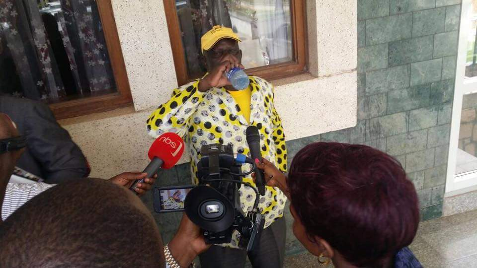 Drama in Parliament As MP Abiriga is Beaten