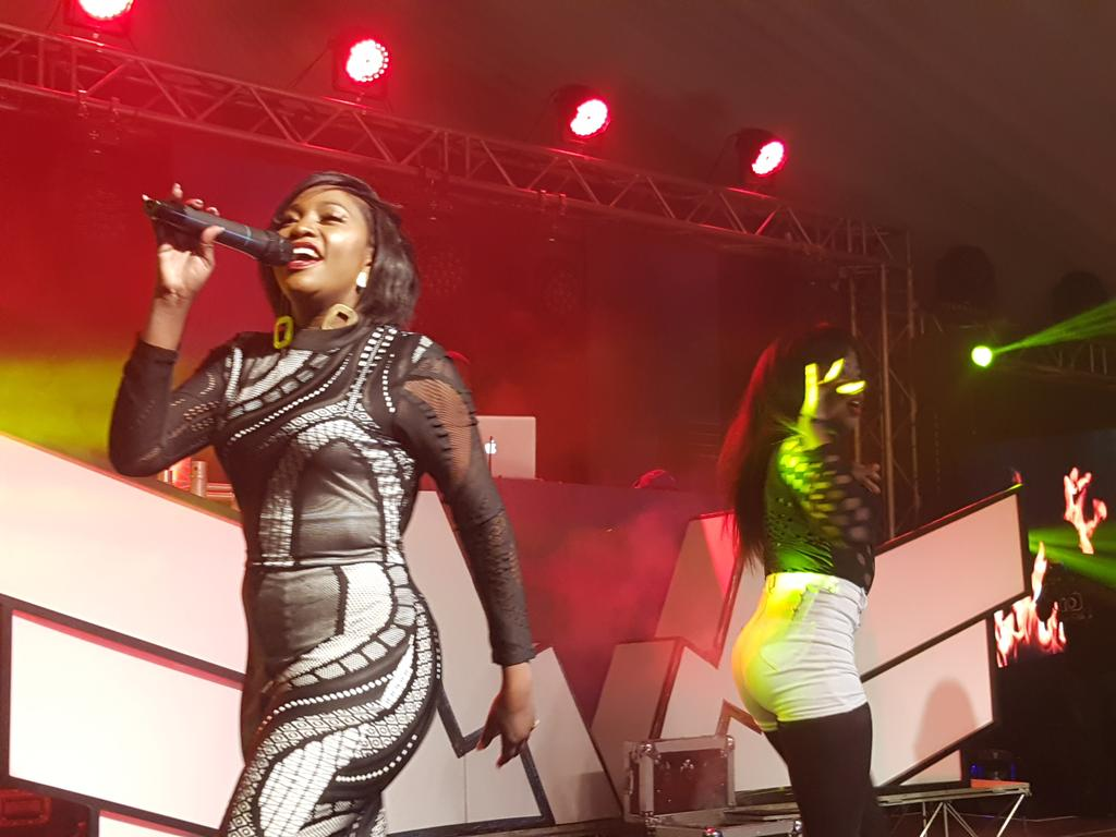 Irene Ntale lights Up Uganda Waragi comedy night