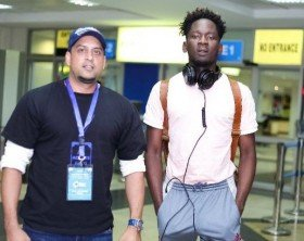 Mr Eazi Is in Town ahead of tomorrows concert