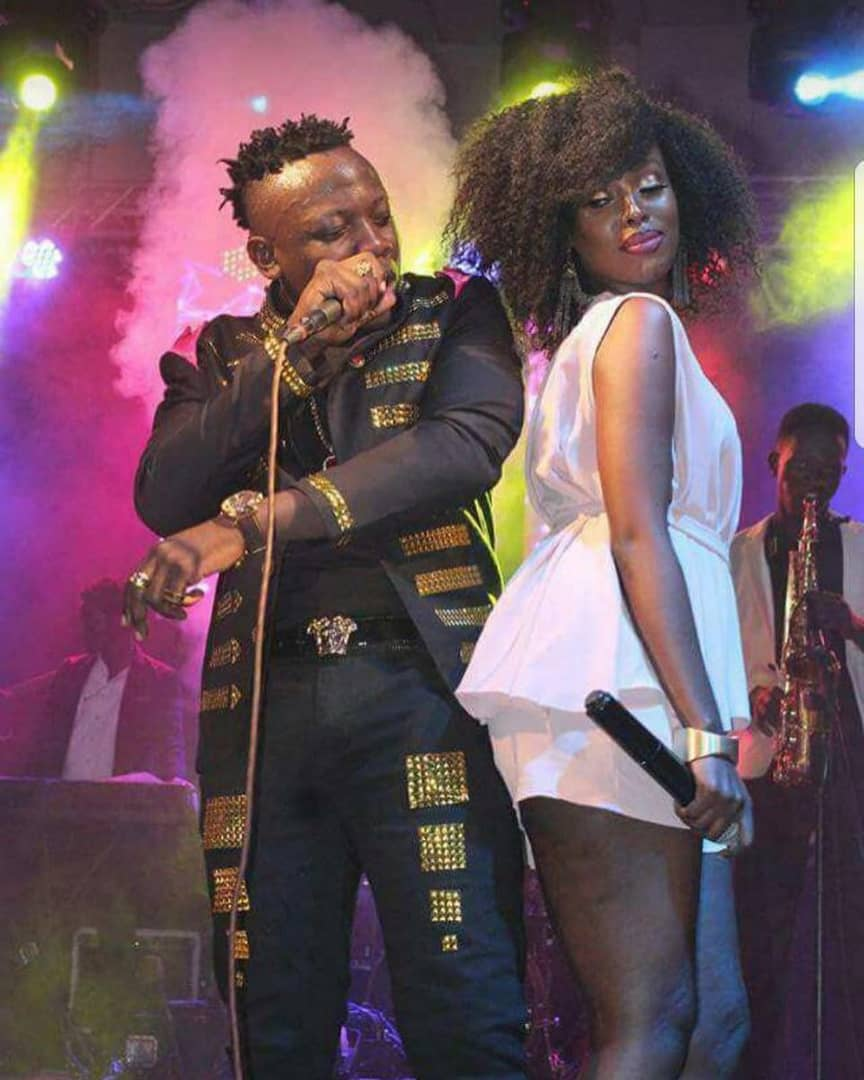 Geosteady runs back to baby Mama