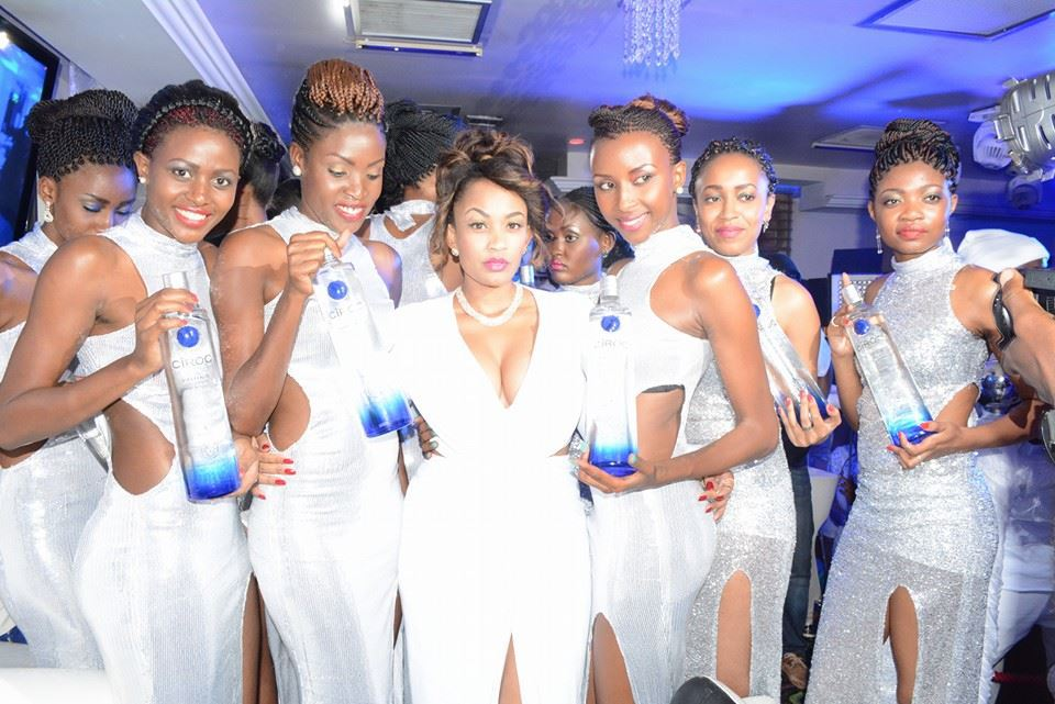 Zari going all out for her All white party next week.