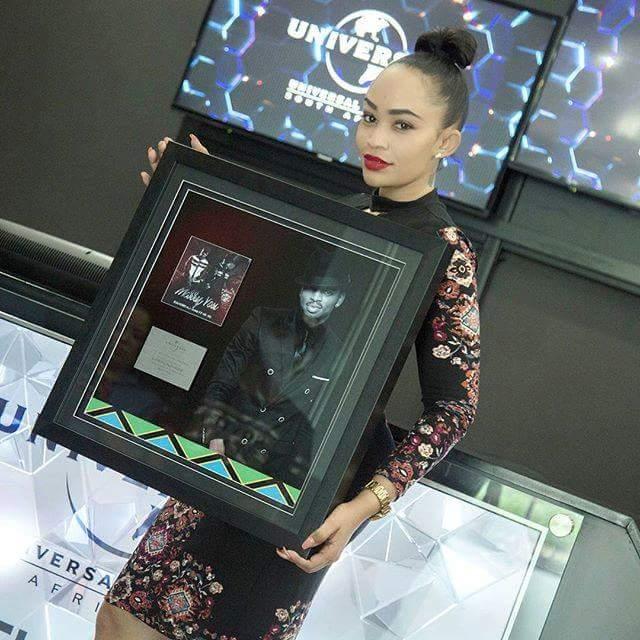 "Diamond Platinumz is worth 6x platinum on song ""Marry you"" ft Neyo"