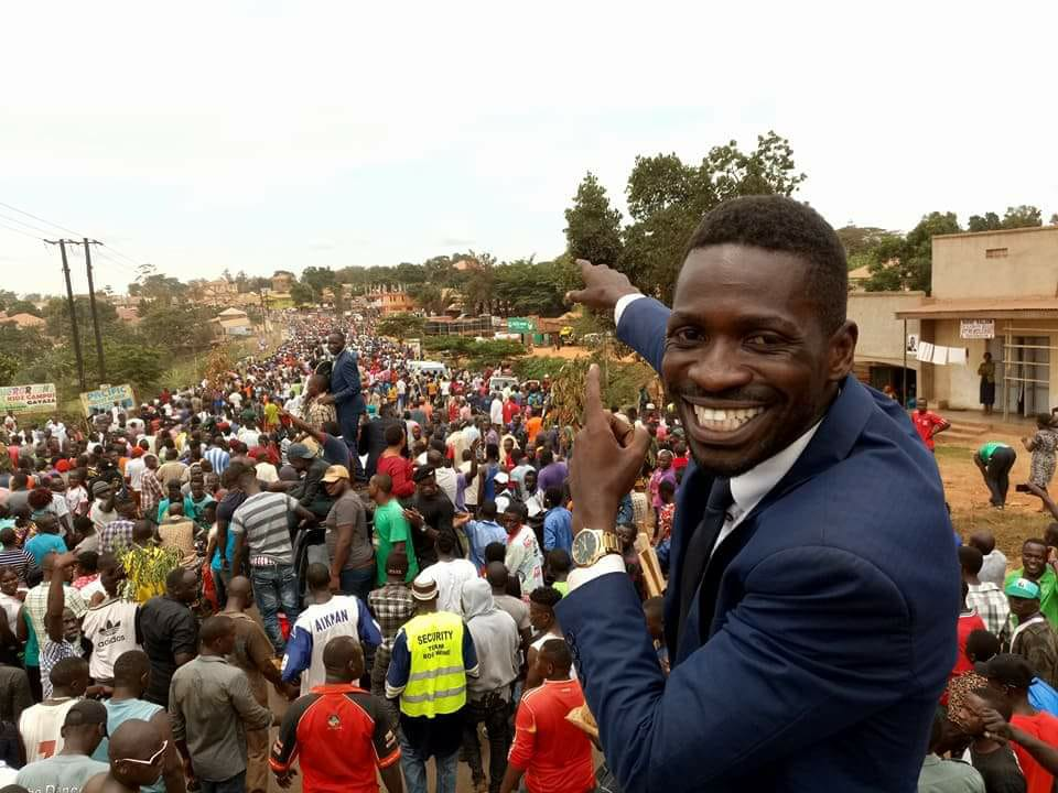 Bobi Wine hosted on straight talk Africa, talks Music and politics