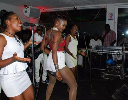 Cindy Sanyu rocks Liquid silk Unplugged show