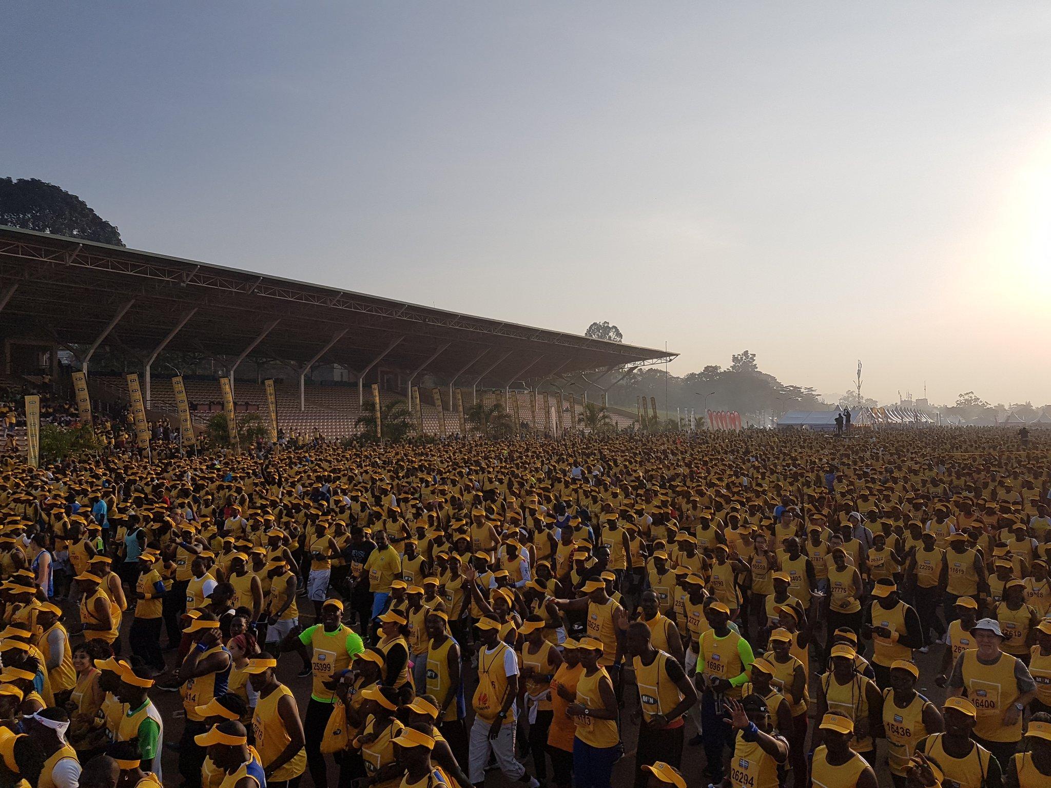 MTN Marathon Colors Kololo Yellow