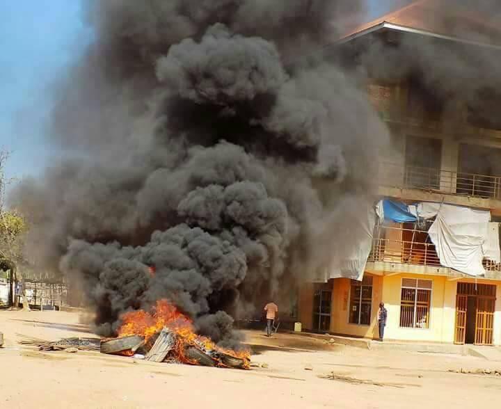 Moyo Residents Strike Over Arrest of MP Hassan Fungaroo