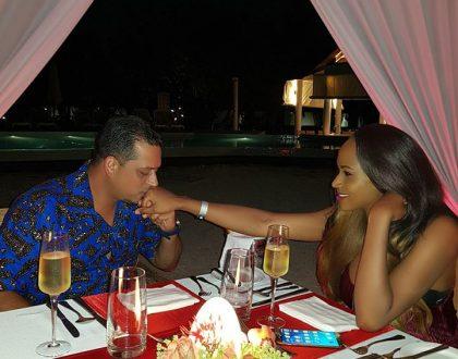 Aly Alibhai and former Miss Uganda on Romantic honeymoon