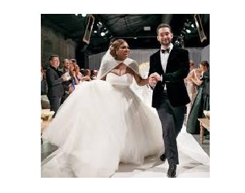 World's greatest Serena williams gets Married in a fairytale wedding