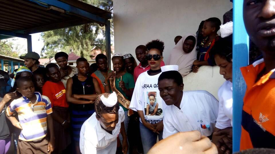 Sheebah Karungi Gives back during her birthday celebrations