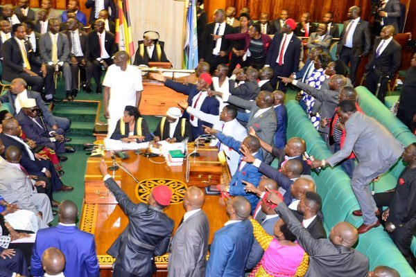 Uganda MPs vote to scrap presidential age limit