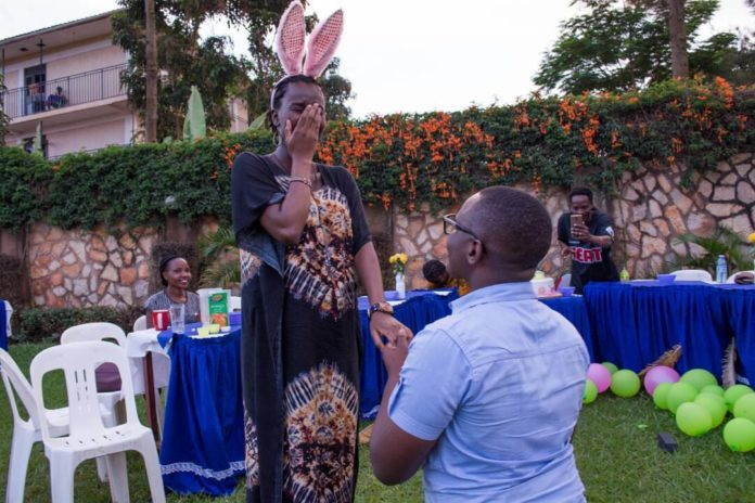 Unban TV's Dzyre Mugisha Proposed to his Girlfriend