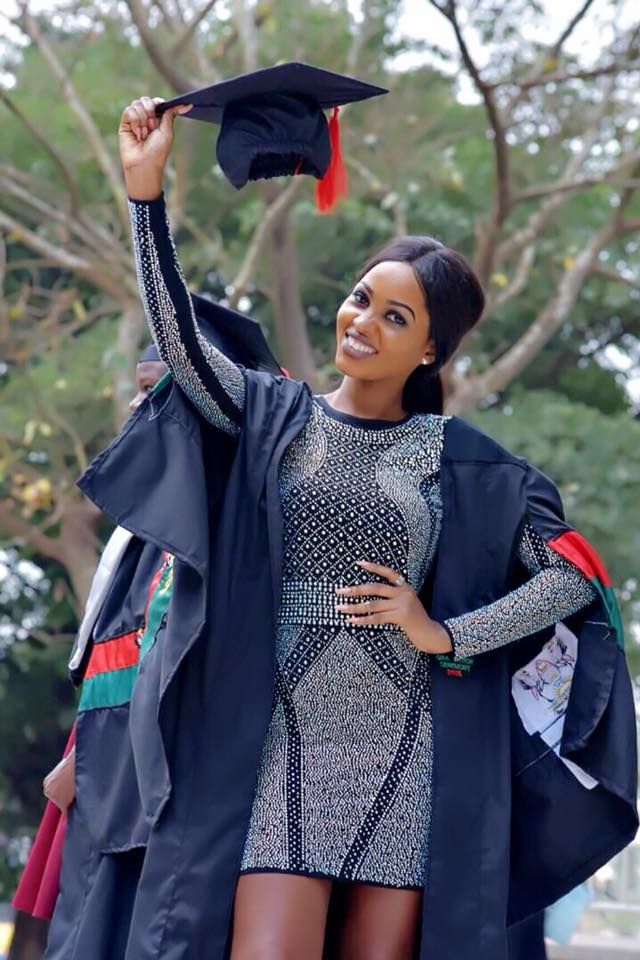 Spice Diana Scoops a Bachelors Degree