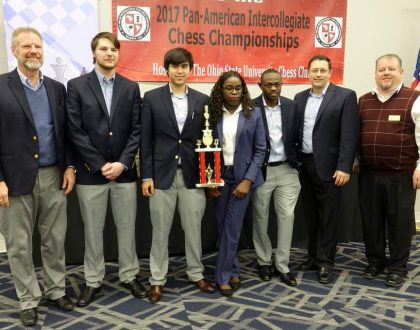 Phiona Mutesi leads Her University to Chess Victory