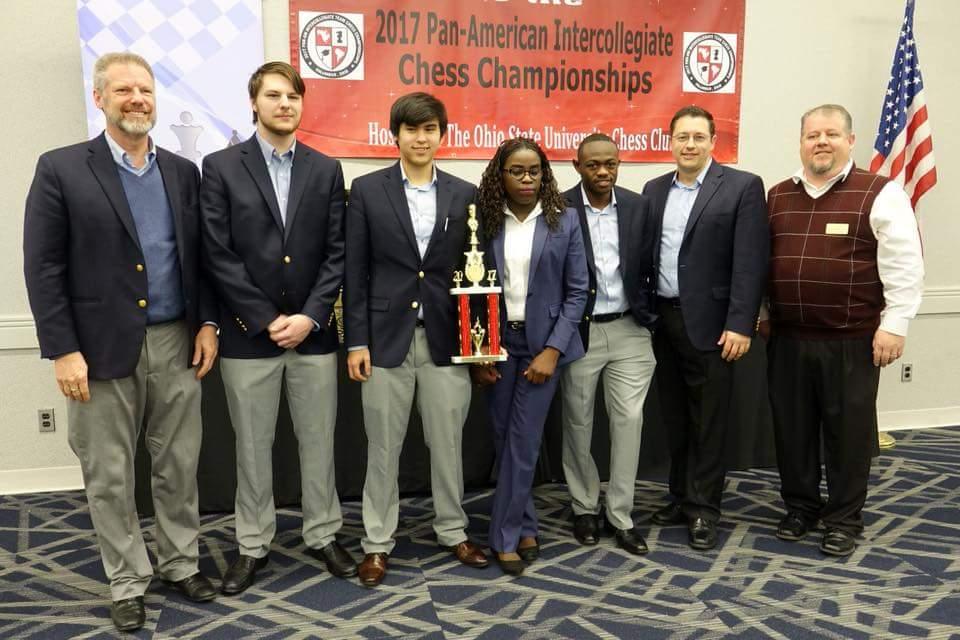Phiona Mutesi leads Her University to Chess Victory