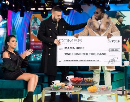 "Diddy Donates $200,000 to Suubi ""Hope"" Health Care Center, Uganda"