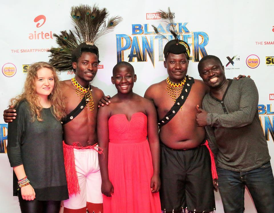 """How Ugandans Embraced """"Black panther"""" premiere"""