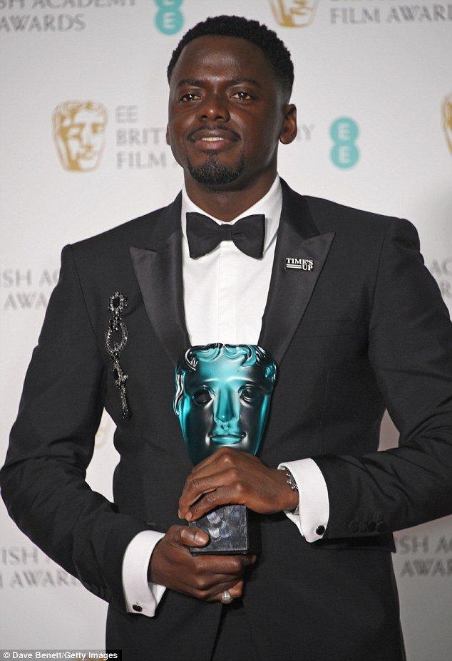 Daniel Kaluuya Wins EE BAFTA Rising Star Award