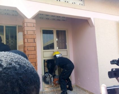 Police surround DPC Mohammed Kirumira's Home
