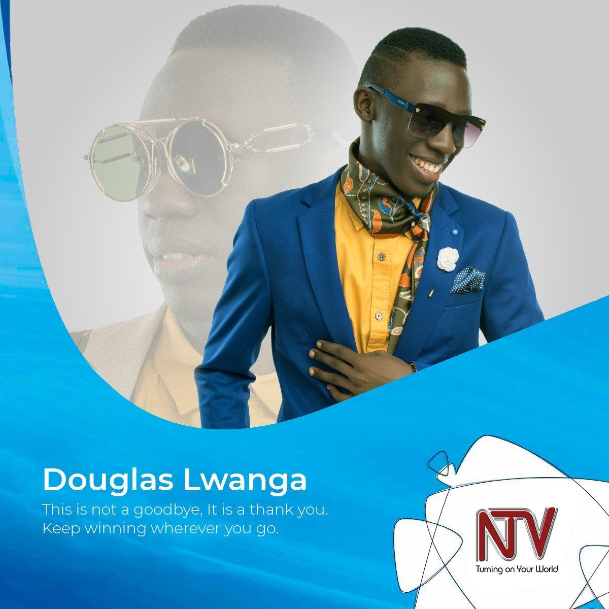 Lwanga Douglas Leaving NTV Uganda