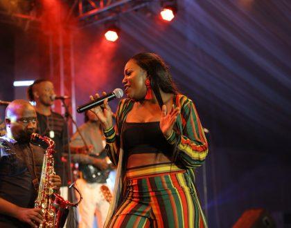 Irene Ntale Fires up Kigali Jazz Junction