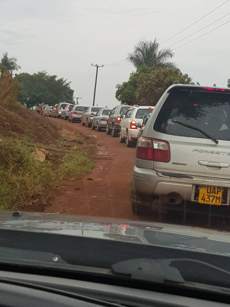 Heavy Rains paralyze Kampala traffic  once again